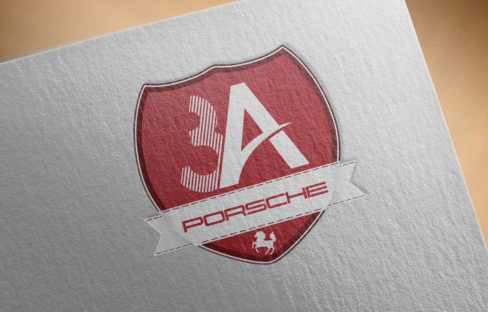 3A Posche logo tasarim sunum