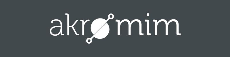 Akromim Mimarlık Kurumsal Dişi Logo Tasarımı